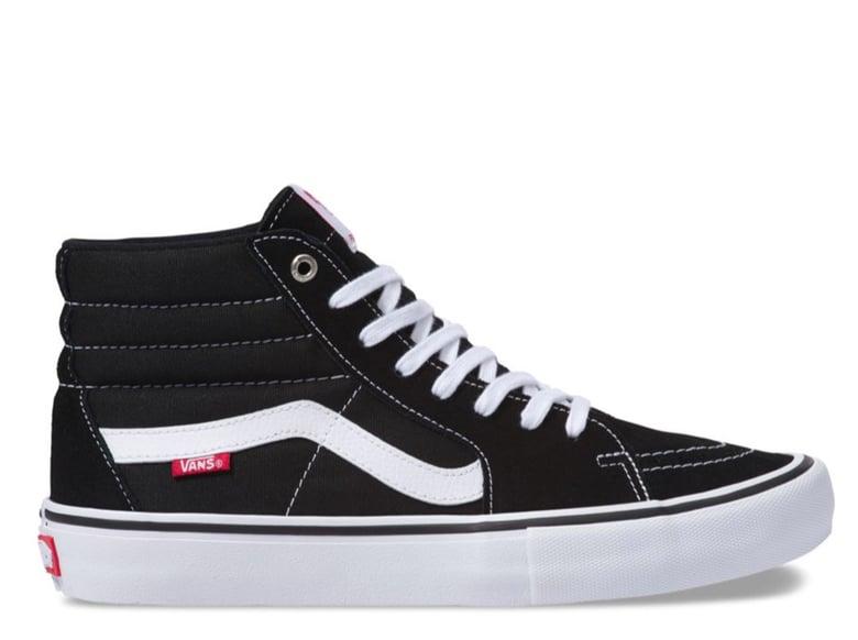 Image of Vans Sk8-Hi Pro | Black/White