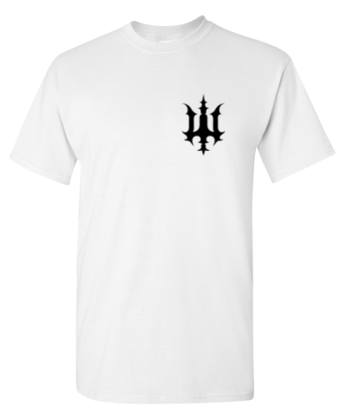 Image of Bookey Records T Shirt - White (PREORDER)