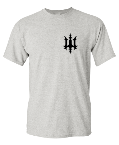 Image of Bookey Records T Shirt - Grey (PREORDER)