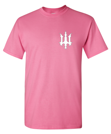 Image of Bookey Records T Shirt - Pink (PREORDER)