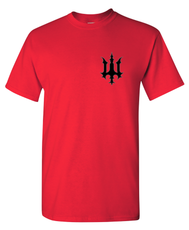 Image of Bookey Records T Shirt - Red (PREORDER)