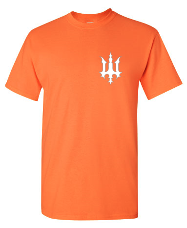 Image of Bookey Records T Shirt - Orange (PREORDER)