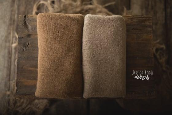 Image of Glenda textured sweater wraps (neutrals)