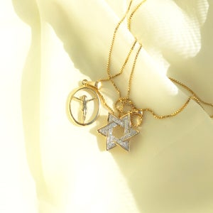 Image of Star Of David IV Necklace