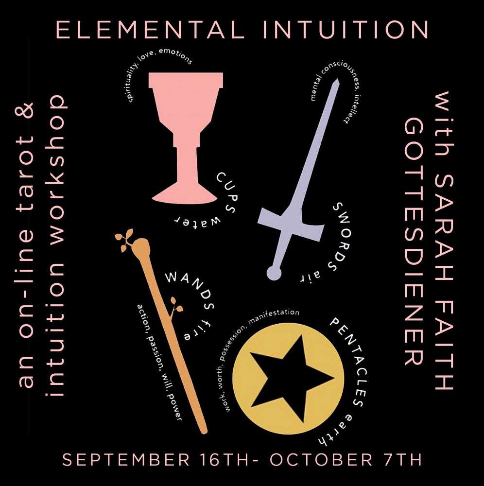 Image of Elemental Intuition 2019 Online Course