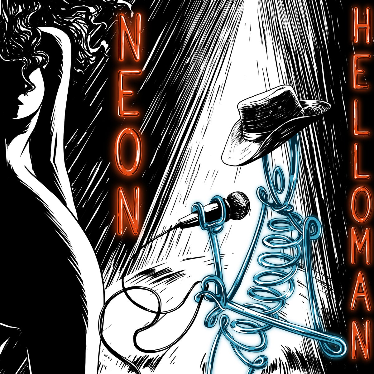 Image of Neon HelloMan LP