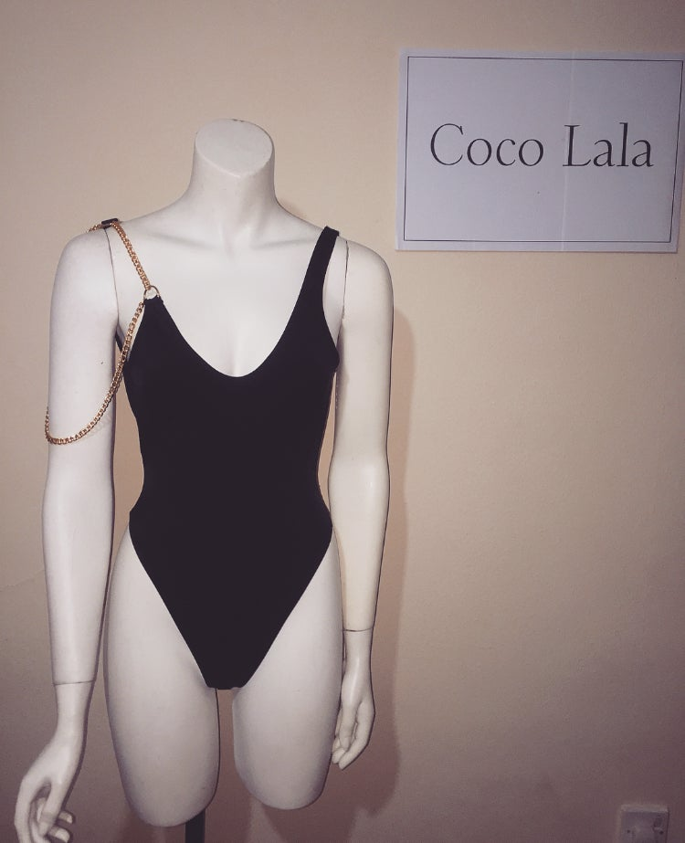Image of Marbella swimsuit - black