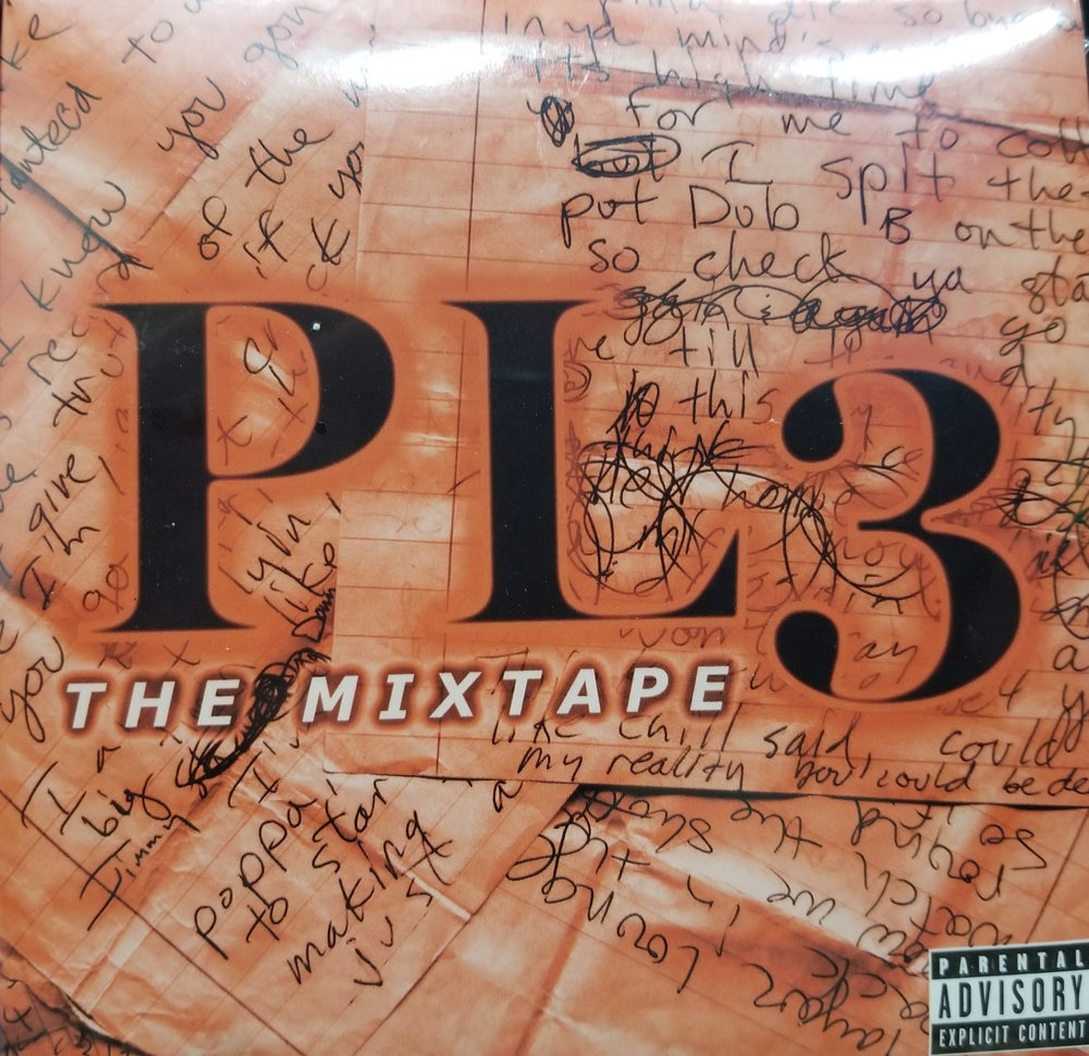 "Image of Playaz Lounge Crew's (PLC) debut studio release ""PL3 The Mixtape"""