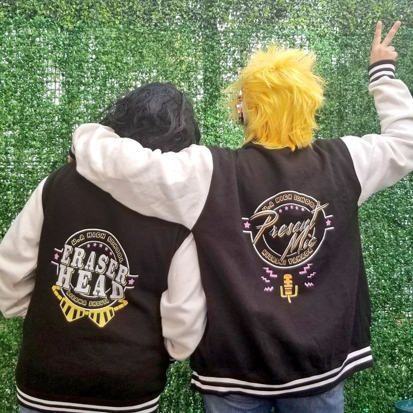 Image of BNHA TEACHERS VARSITY JACKETS PREORDER