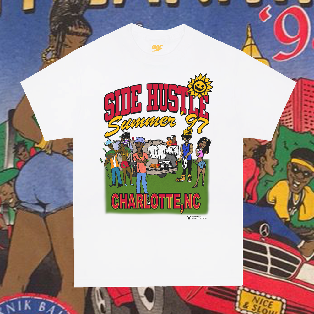 Image of 1997 Side Hustle Summer Charlotte Tee