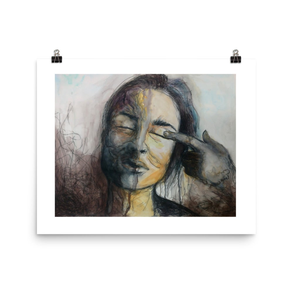 Image of Dichotomy - Unframed Print