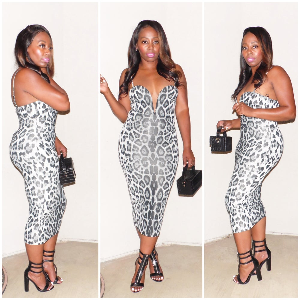 Image of LUCKY LEOPARD DRESS