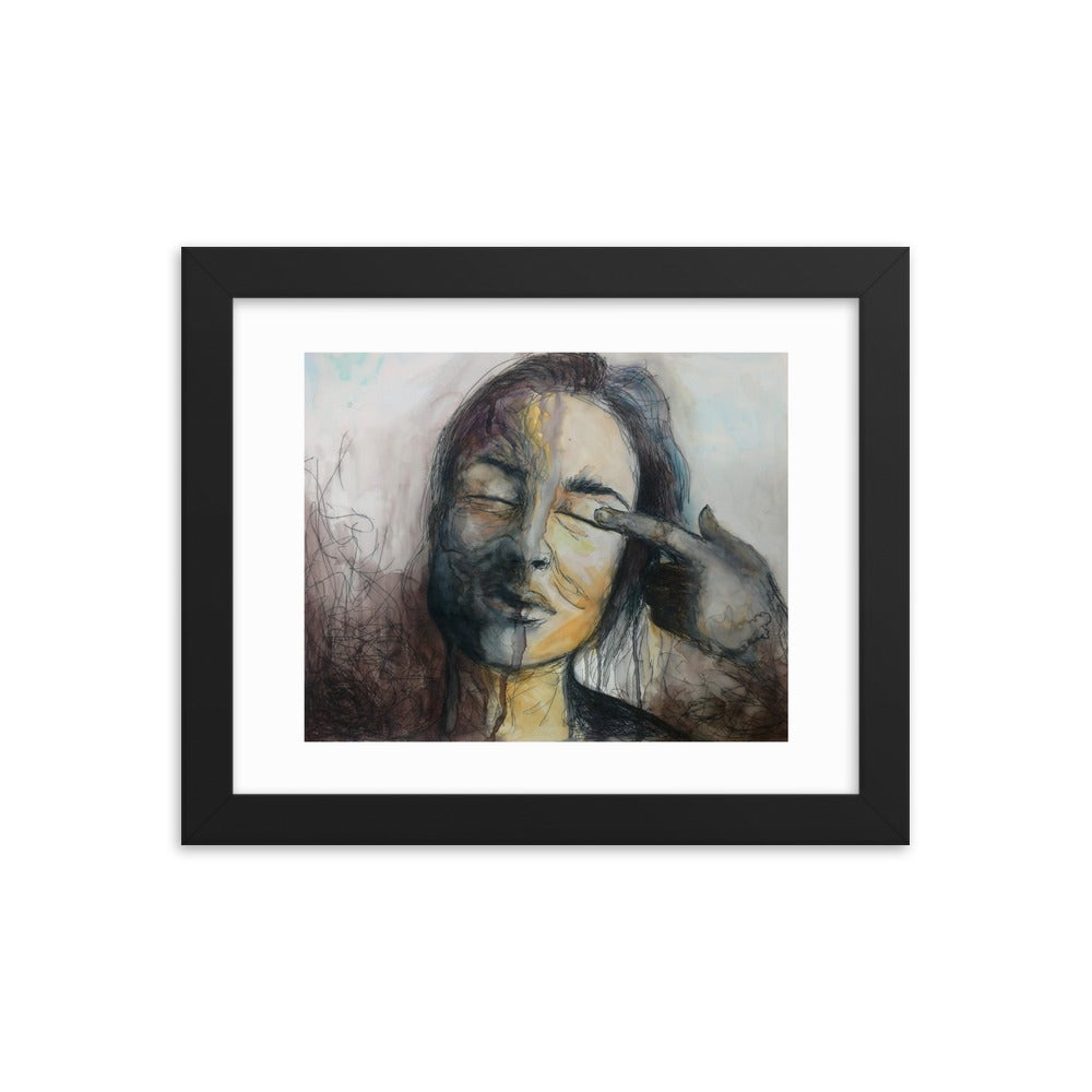 Image of Dichotomy - Framed Print
