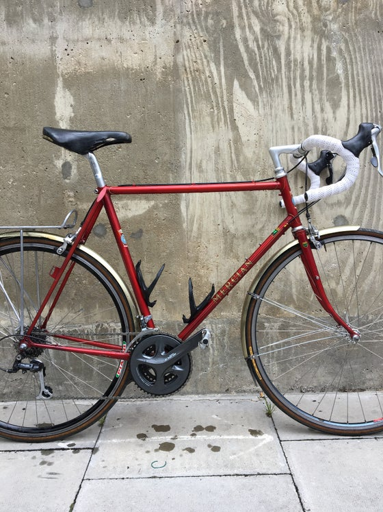 Image of Mercian light tourer or Audax bike 58 cm