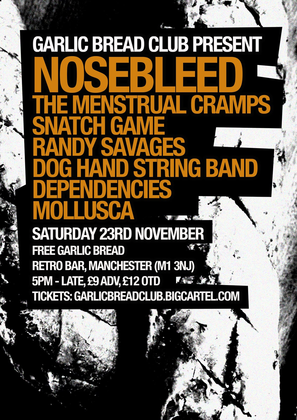 Image of GBC 2: Nosebleed, Menstrual Cramps and more Ticket