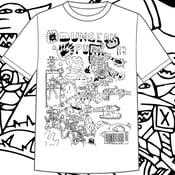 Image of Dungeonpunx Bizness Goblin Shirt - White