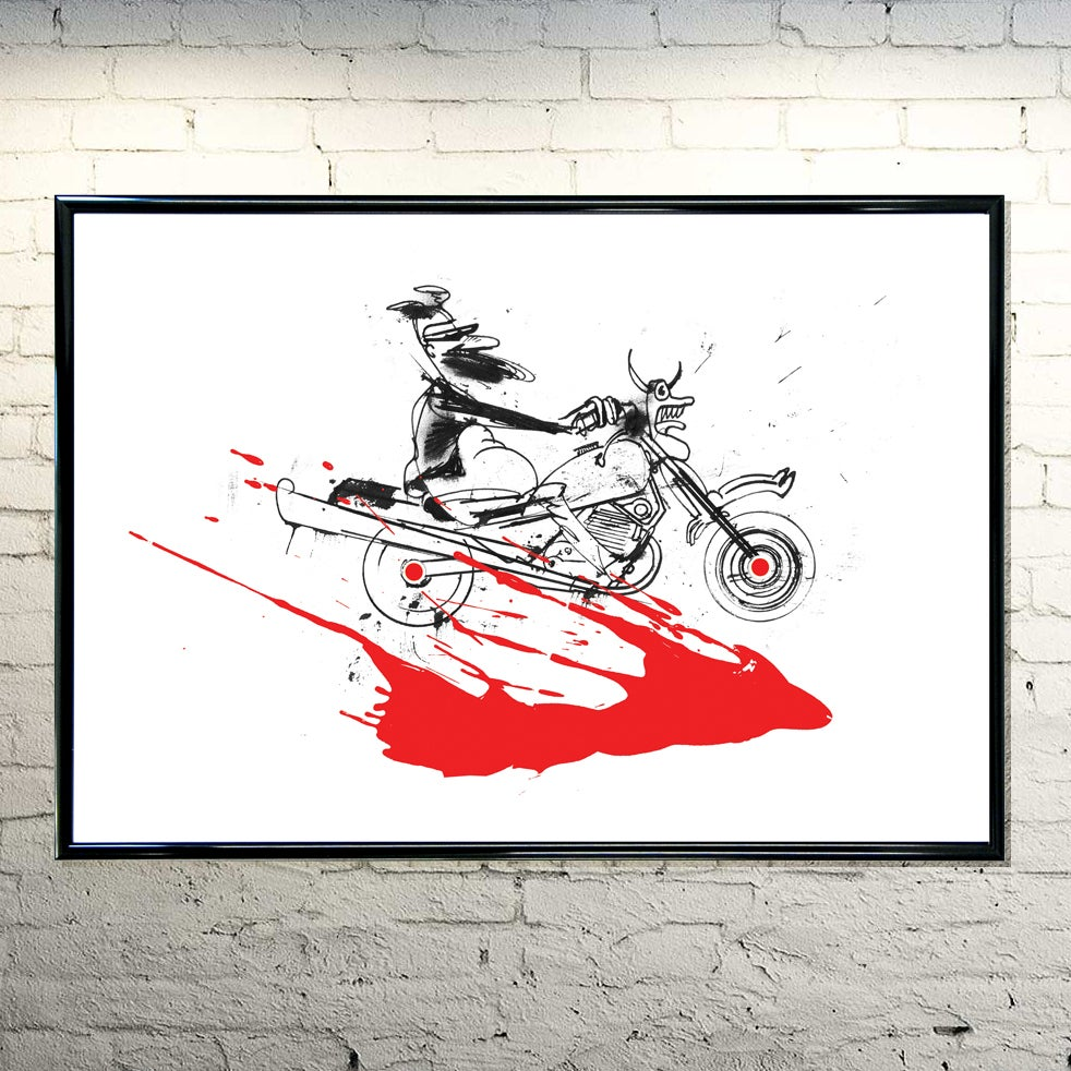 Image of Hell Rider