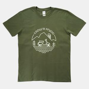 Image of Cadw'r Ffydd/Keep The Faith T-Shirt (Military Green)