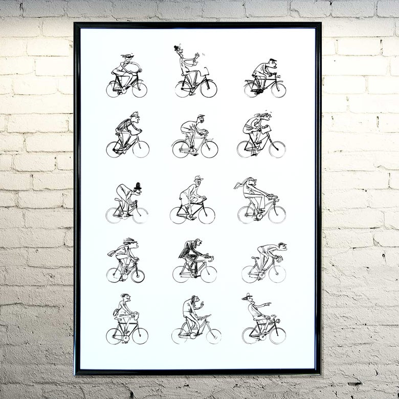 Image of Man & Bike