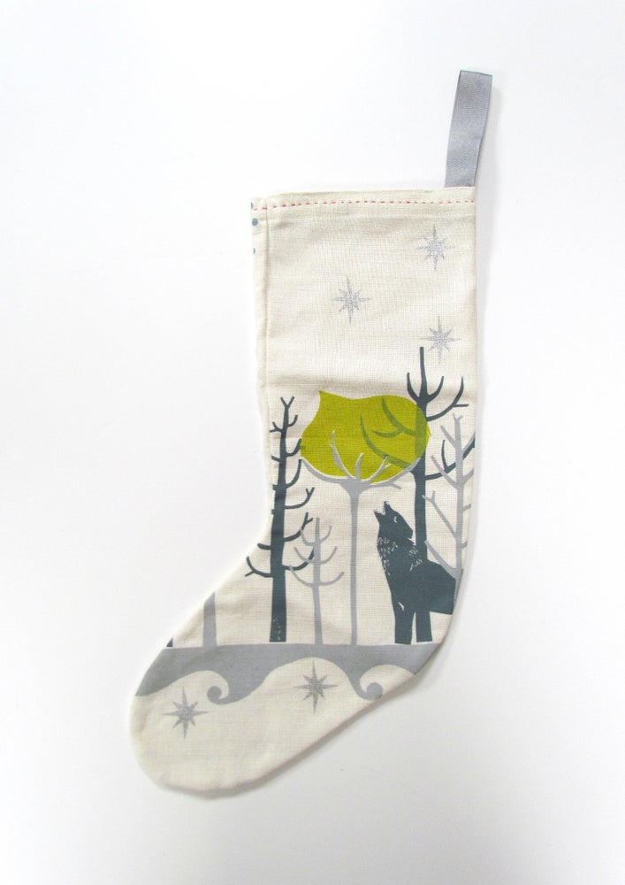 Image of WOLFGANG'S CHRISTMAS STOCKING (SAMPLE SALE!)