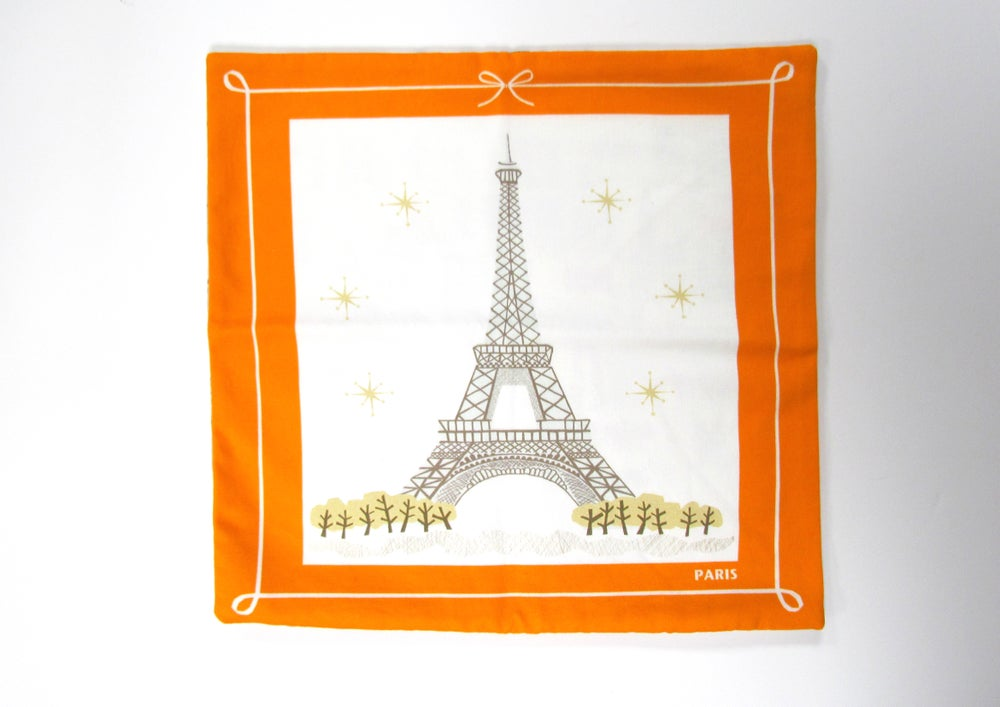 Image of LPNY CUSHION 'EIFFEL TOWER' (SAMPLE SALE!)