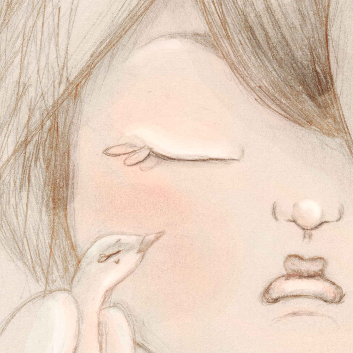 Image of PETITE D'AME NATURE A3 - Illustration n°1 imprimée