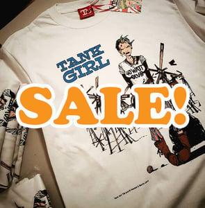 Image of SALE! 50% off - Tank Girl 30th anniversary 40 Watt Club T-Shirt