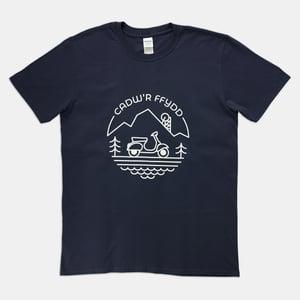 Image of Cadw'r Ffydd/Keep The Faith T-Shirt (Navy)