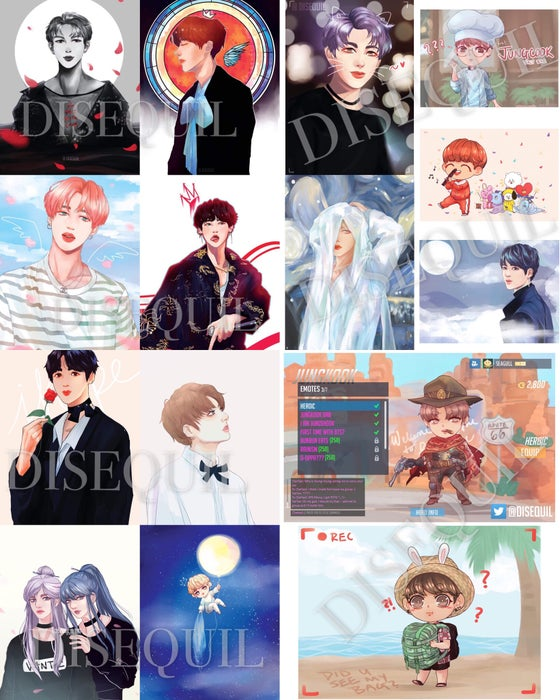 Image of BTS Mini Prints