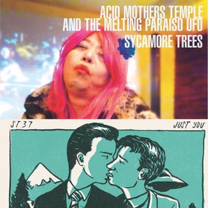 "Image of Acid Mothers Temple & The Melting Paraiso UFO/ST37 Split 12"" vinyl EP"
