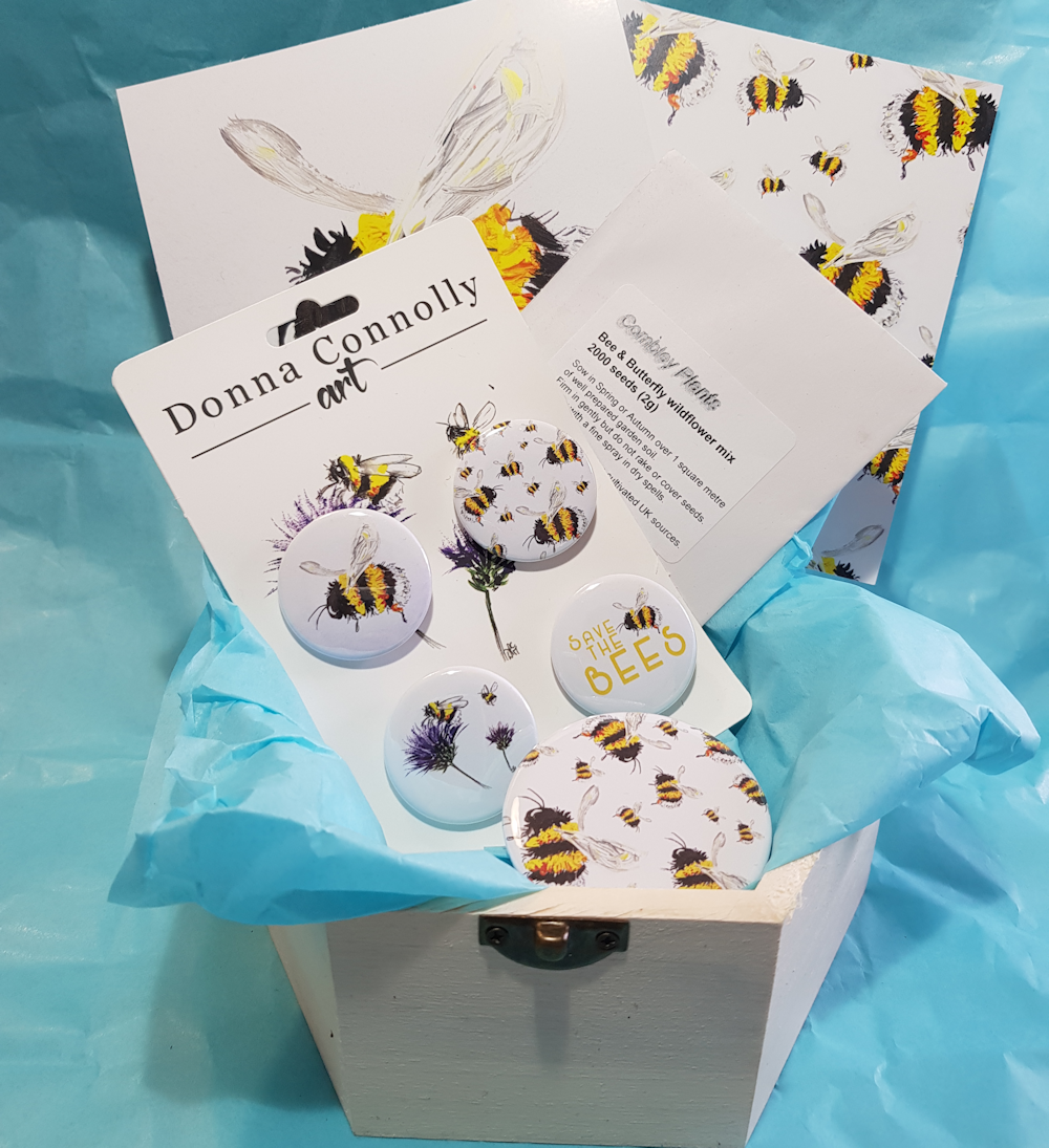 Image of Summertime Bees box