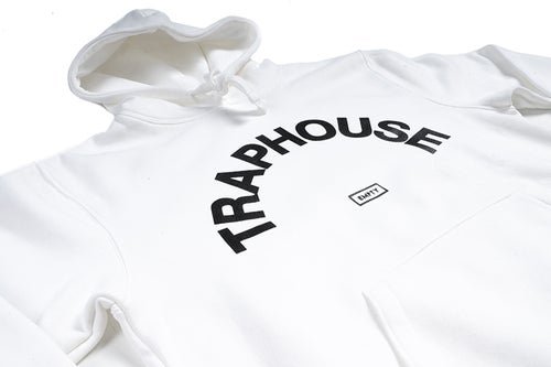 Image of TRAPHOUSE White Hoodie
