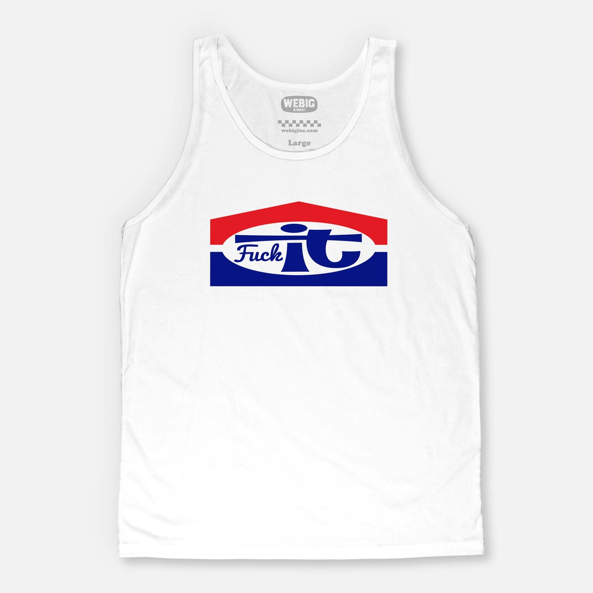 Image of FUCKIT MENS LIMITED TANK