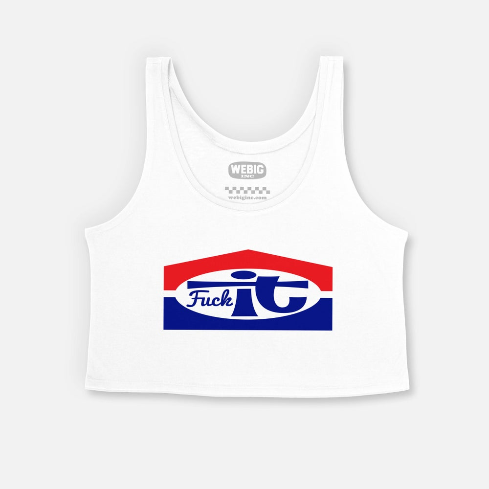 Image of FUCKIT WOMENS LIMITED CROP TANK