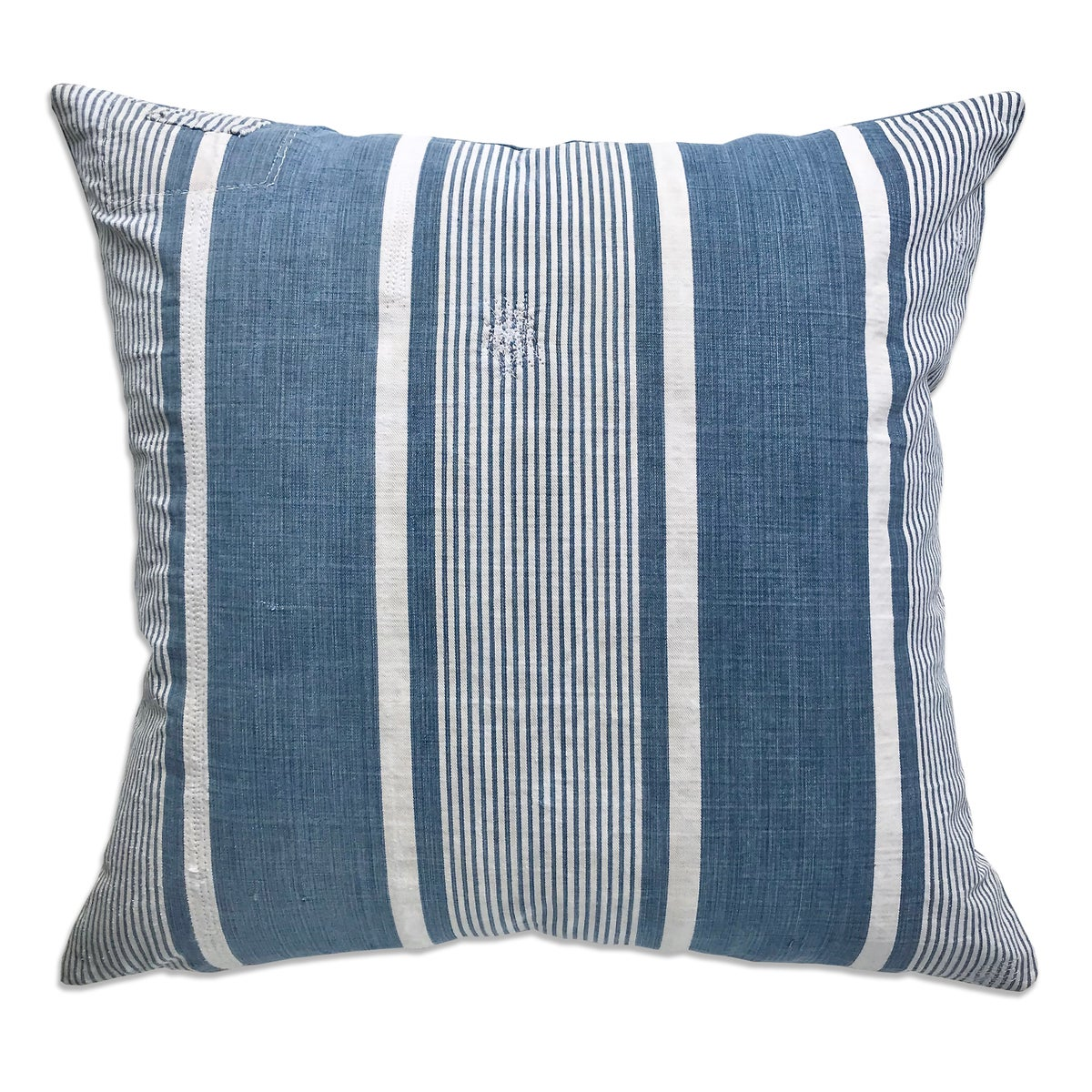 Image of VINTAGE FRENCH TICKING STRIPE PILLOW