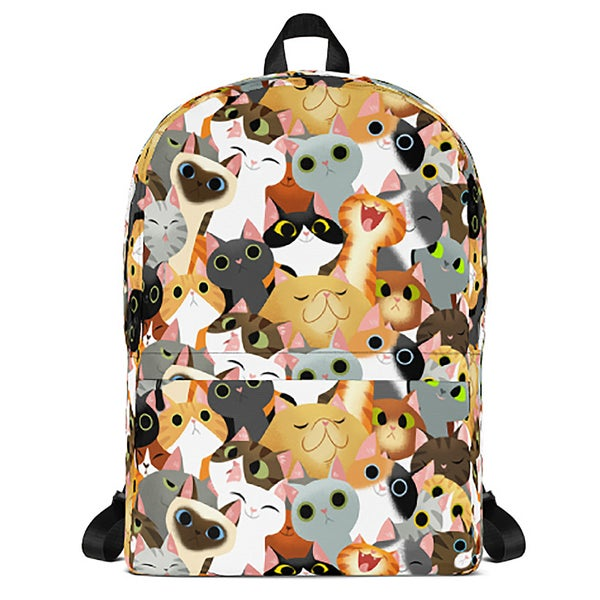 Image of Cat Crowd Backpack
