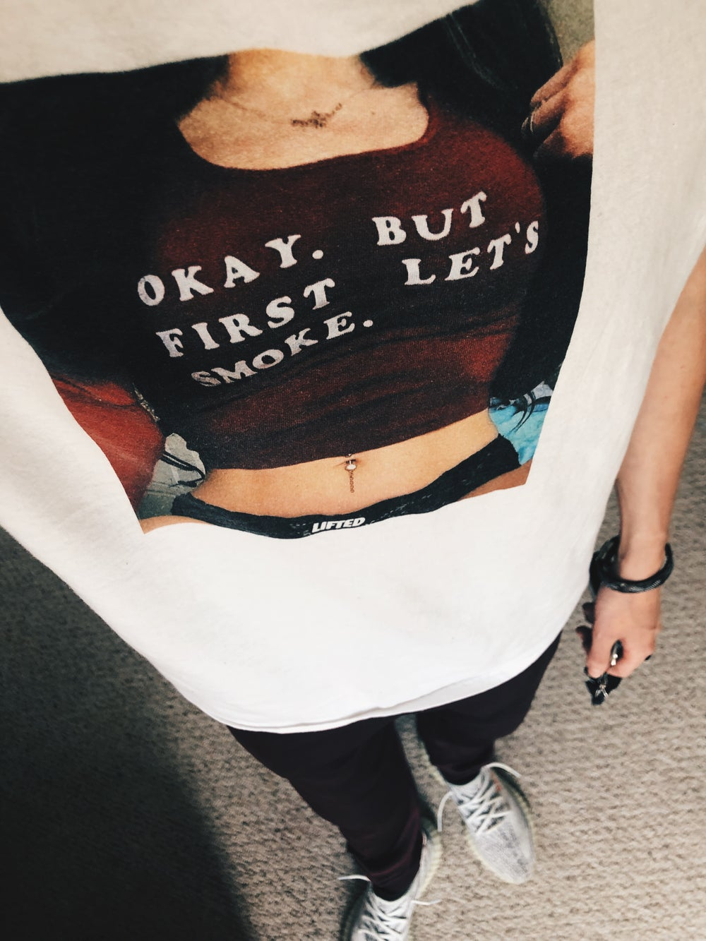 But First Lets Smoke Tee