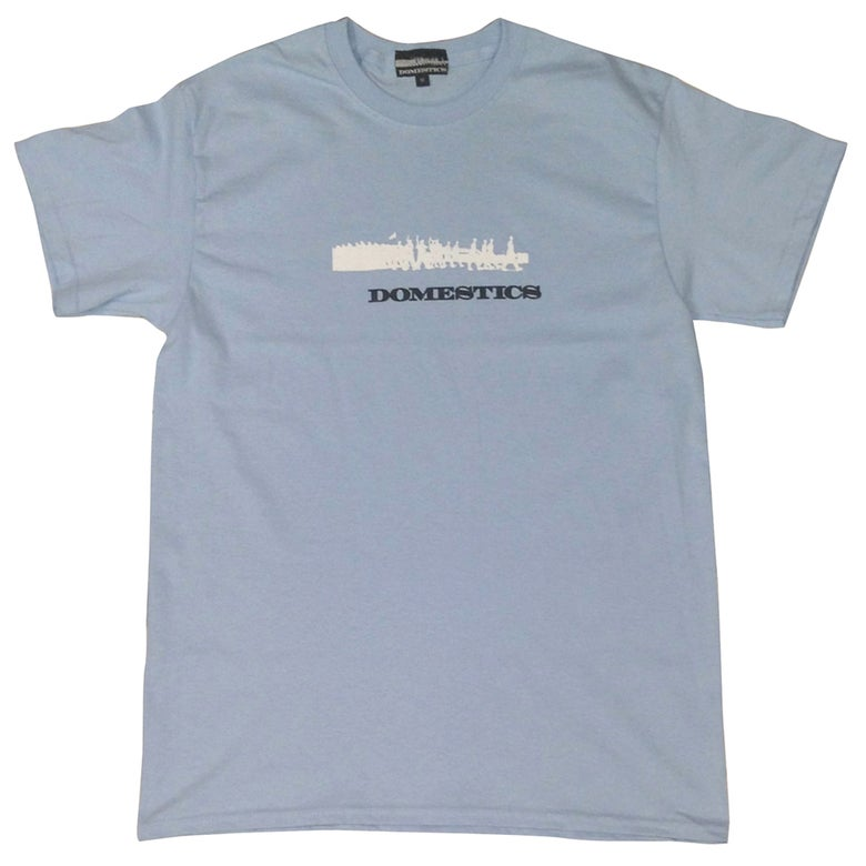 Image of DOMEstics. Soldiers Two Tone (Baby Blue)