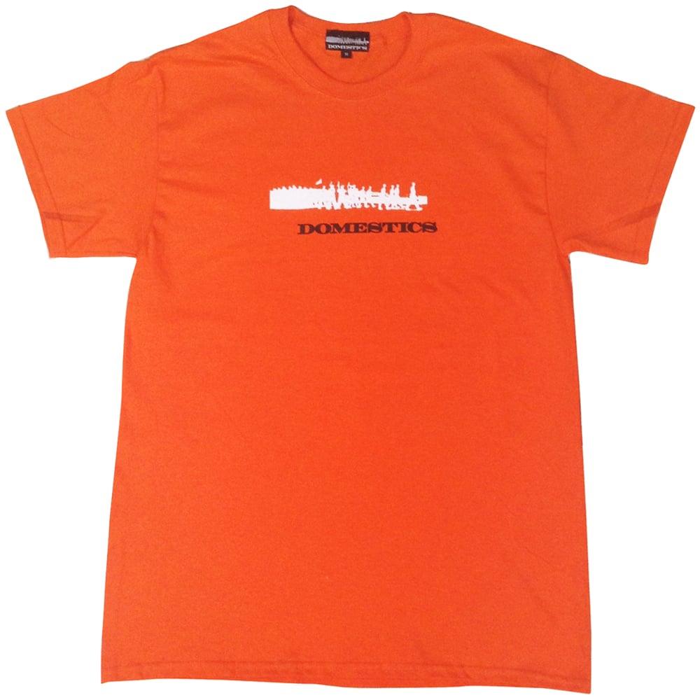 Image of DOMEstics. Soldiers Two Tone (Orange)