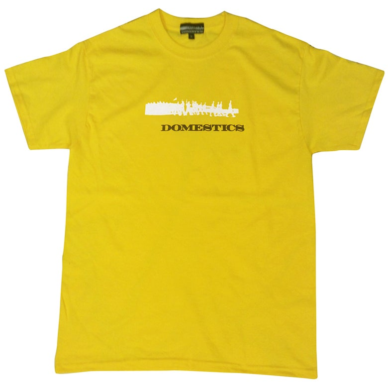 Image of DOMEstics. Soldiers Two Tone (Yellow)