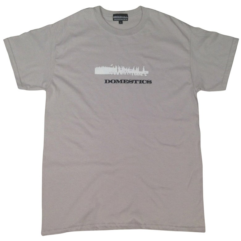 Image of DOMEstics. Soldiers Two Tone (Light Grey)