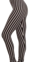 Image of Black and White Stripe