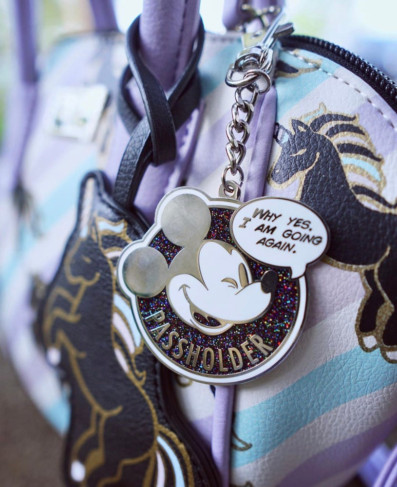 Image of Space Mouse - AP Parody Keychain