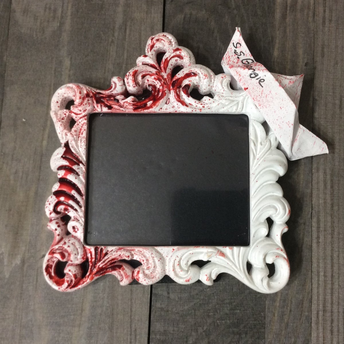 Image of S.S. Georgie - Bloody Float Picture Frame