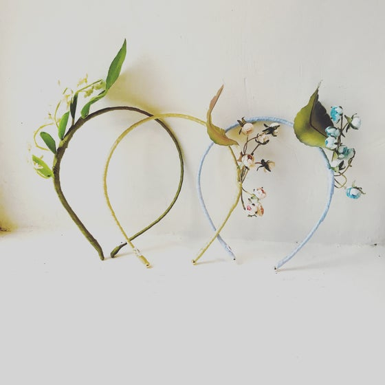 Image of Vintage Floral Hairband
