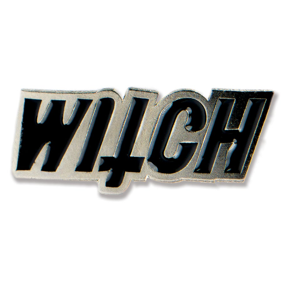 Image of Resting Witch Face Pin
