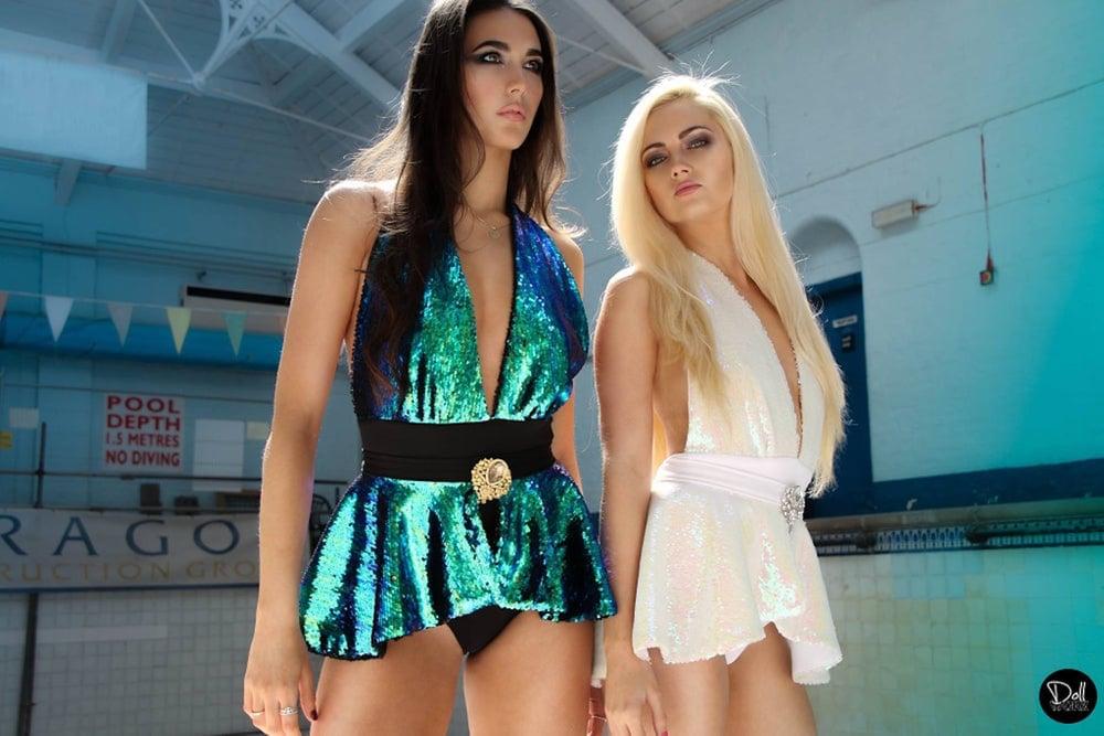 Image of Jacksons Fashion - Mermaid Peplum Swimsuit