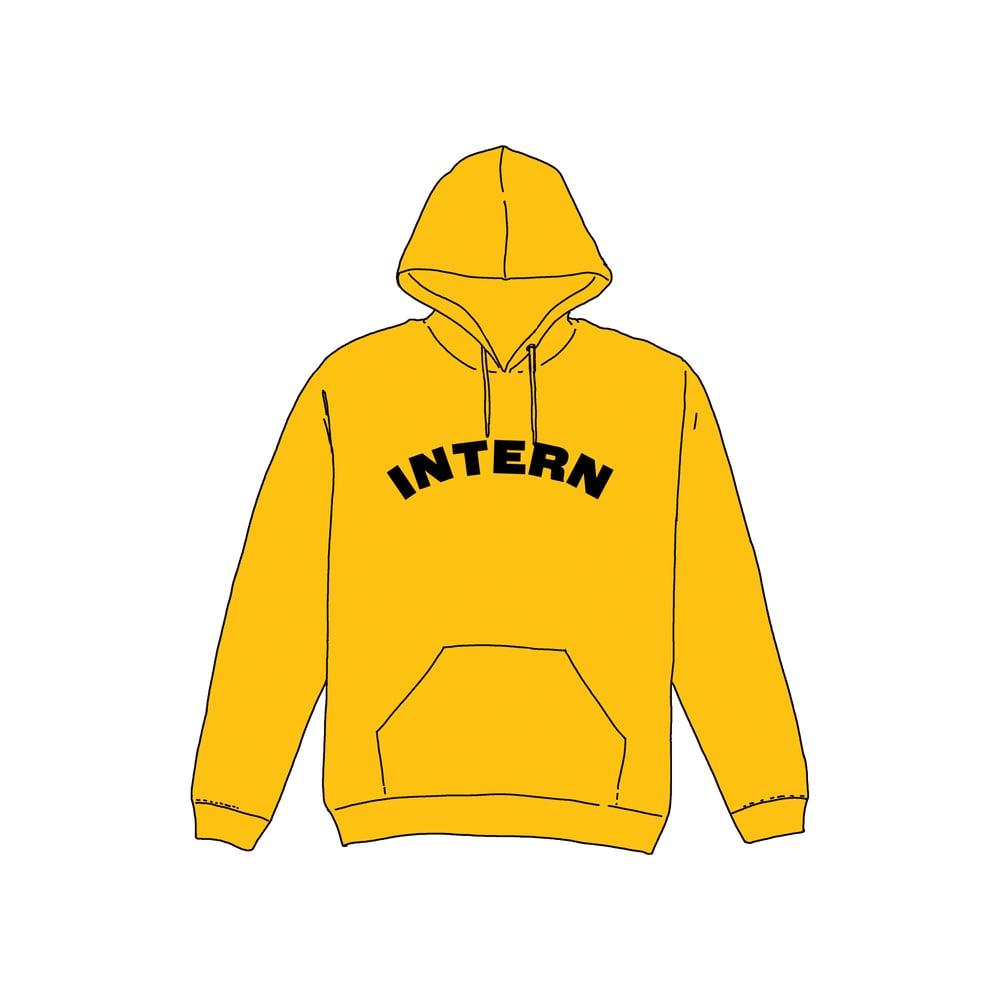 Image of INTERN Hoodie | GOLD