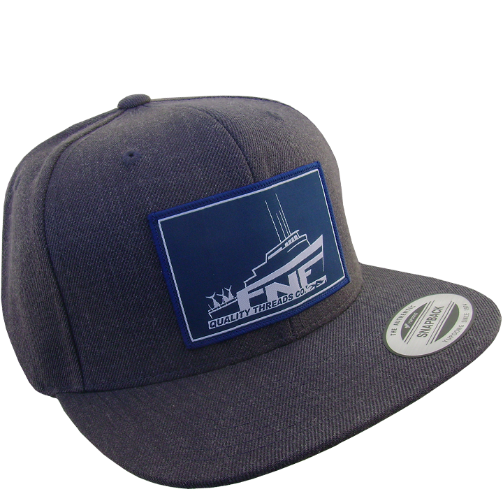Image of Sea Bound Snap Back (carbon grey)