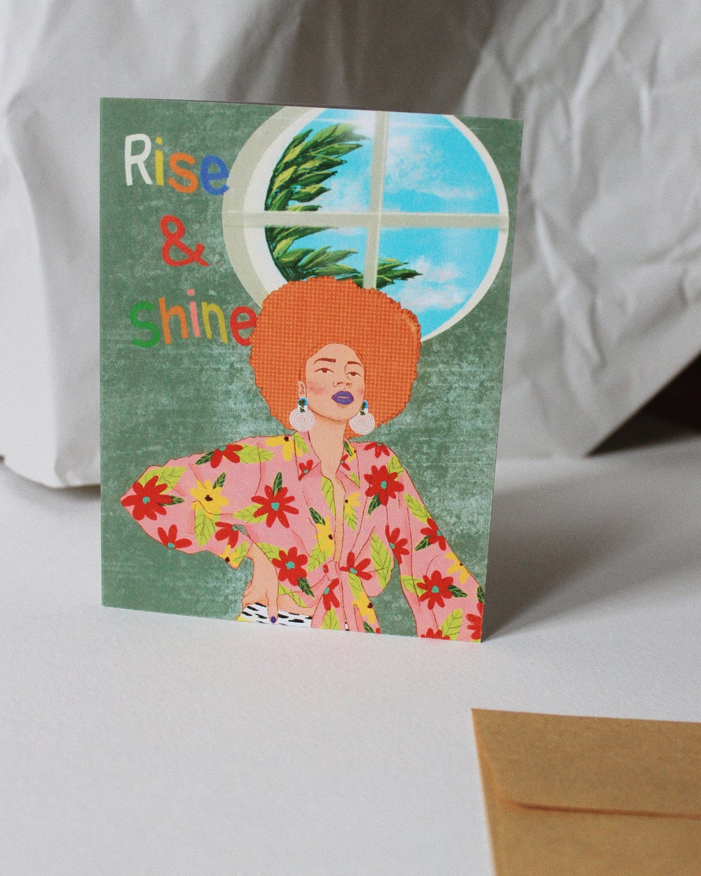 Image of Krista Bossing greeting card